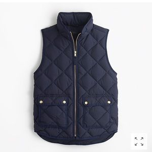 J crew excursion quilted vest MOVING SALE